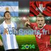 Match Argentine – Suisse en direct